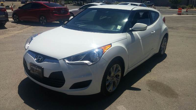 2016 Hyundai Veloster for sale at Intermountain Auto Sales in Grand Junction CO