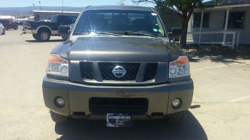 2011 Nissan Titan for sale at Intermountain Auto Sales in Grand Junction CO