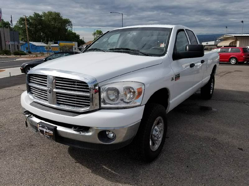 2008 Dodge Ram Pickup 2500 for sale at Intermountain Auto Sales in Grand Junction CO