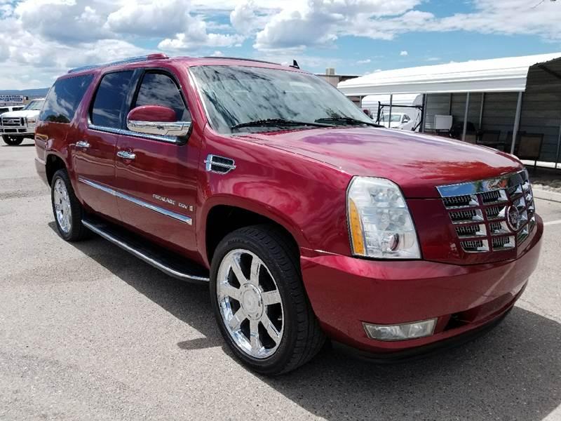 2008 Cadillac Escalade ESV for sale at Intermountain Auto Sales in Grand Junction CO