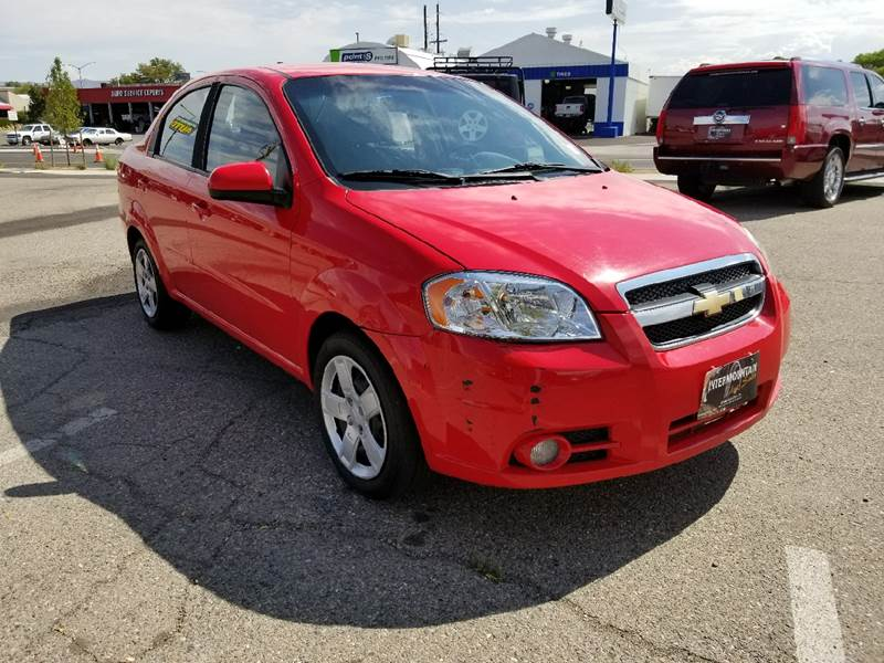 2011 Chevrolet Aveo for sale at Intermountain Auto Sales in Grand Junction CO