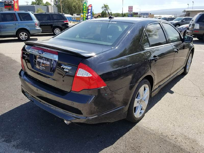 2012 Ford Fusion for sale at Intermountain Auto Sales in Grand Junction CO