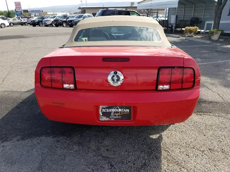 2006 Ford Mustang for sale at Intermountain Auto Sales in Grand Junction CO