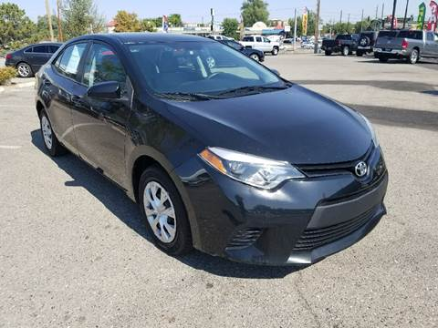 2014 Toyota Corolla for sale at Intermountain Auto Sales in Grand Junction CO