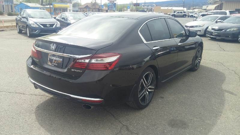 2016 Honda Accord for sale at Intermountain Auto Sales in Grand Junction CO