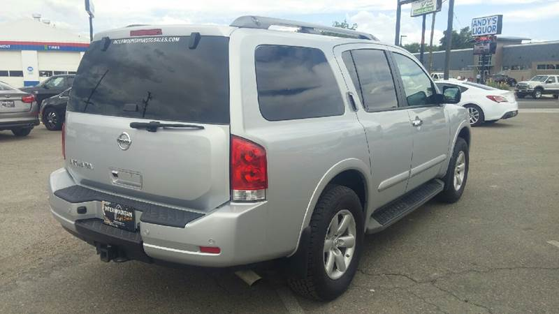 2015 Nissan Armada for sale at Intermountain Auto Sales in Grand Junction CO
