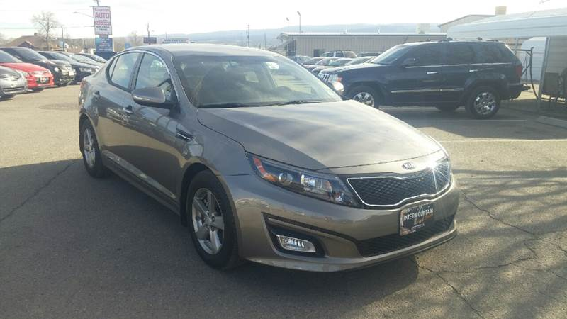 2015 Kia Optima for sale at Intermountain Auto Sales in Grand Junction CO