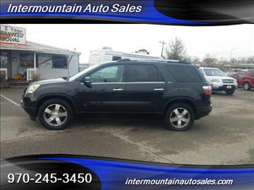 2010 GMC Acadia for sale at Intermountain Auto Sales in Grand Junction CO