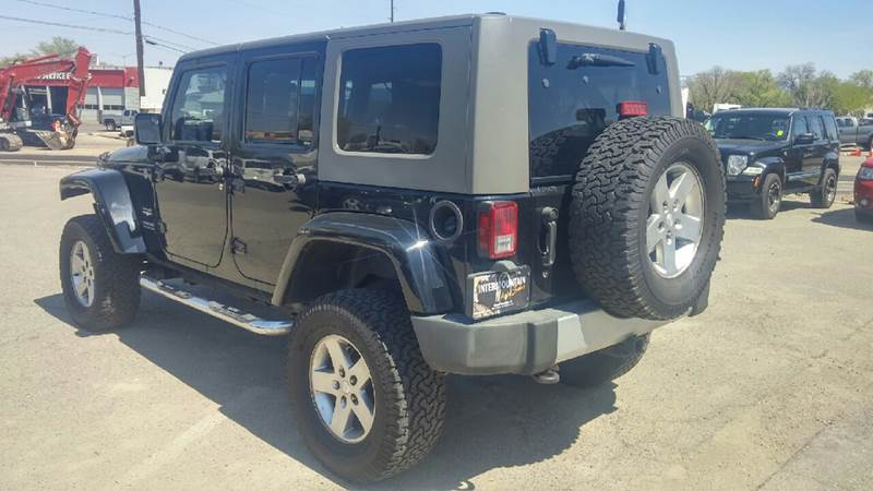 2009 Jeep Wrangler Unlimited for sale at Intermountain Auto Sales in Grand Junction CO