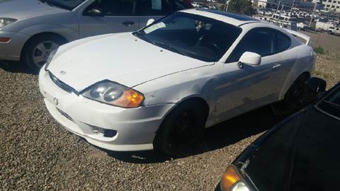 2005 Hyundai Tiburon for sale at Intermountain Auto Sales in Grand Junction CO