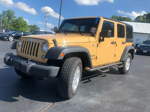 2014 Jeep Wrangler Unlimited for sale in Eldon, MO