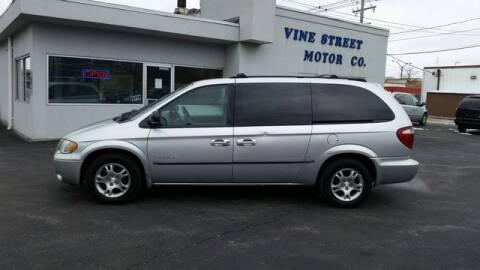 2001 Dodge Grand Caravan Sport for sale at VINE STREET MOTOR CO in Urbana IL