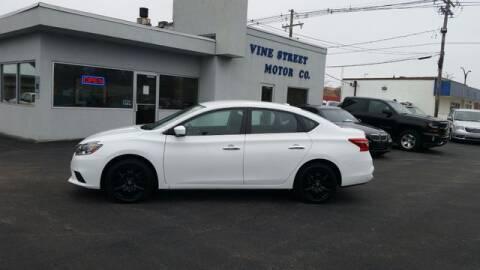 2016 Nissan Sentra for sale at VINE STREET MOTOR CO in Urbana IL