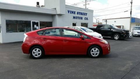 2011 Toyota Prius for sale at VINE STREET MOTOR CO in Urbana IL