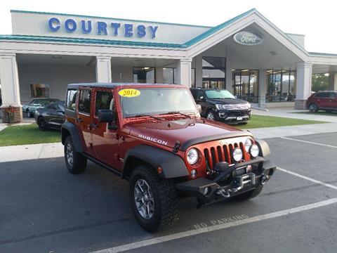 2014 Jeep Wrangler Unlimited for sale in Pocatello, ID