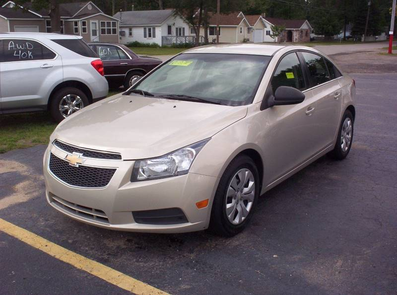 2012 Chevrolet Cruze For Sale At LAKESIDE MOTORS LLC In Houghton Lake MI
