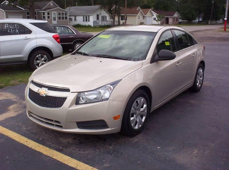 2012 Chevrolet Cruze For Sale At LAKESIDE MOTORS LLC In Houghton Lake MI