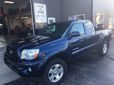 2008 Toyota Tacoma for sale at Hoss Sage City Motors, Inc in Monticello IL