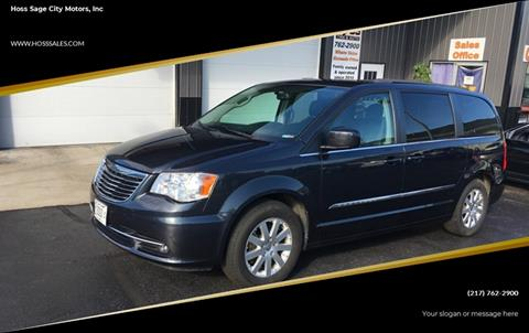 2014 Chrysler Town and Country for sale at Hoss Sage City Motors, Inc in Monticello IL