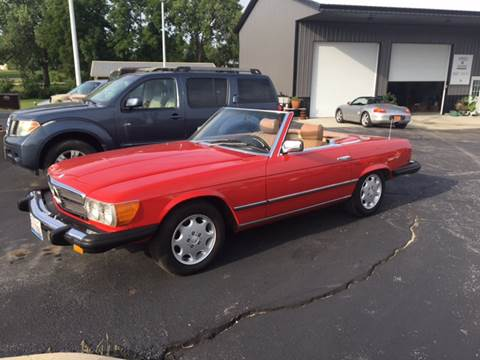 1982 Mercedes-Benz 380-Class for sale at Hoss Sage City Motors, Inc in Monticello IL
