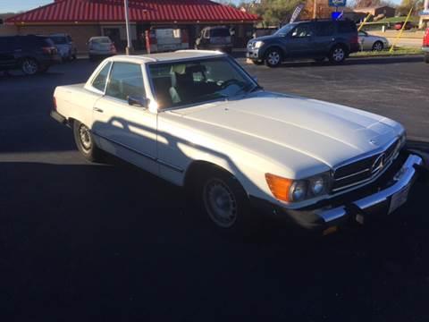 1975 Mercedes-Benz 450 SL for sale at Hoss Sage City Motors, Inc in Monticello IL