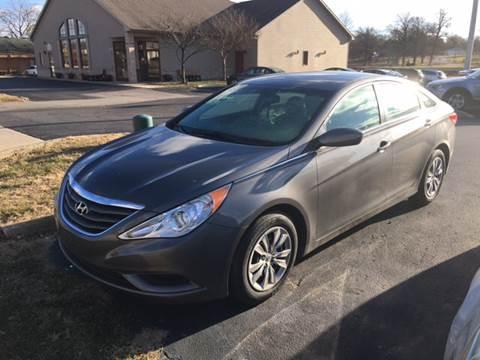 2012 Hyundai Sonata for sale at Hoss Sage City Motors, Inc in Monticello IL