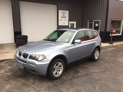 2006 BMW X3 for sale at Hoss Sage City Motors, Inc in Monticello IL