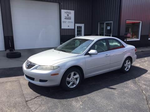 2003 Mazda MAZDA6 for sale at Hoss Sage City Motors, Inc in Monticello IL