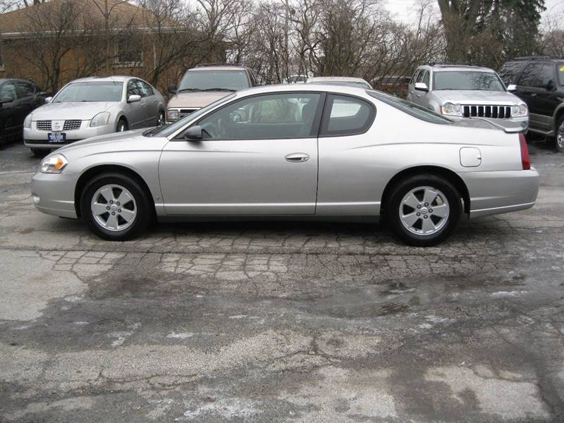 2006 chevrolet monte carlo lt 2dr coupe w 1lt in crete il. Black Bedroom Furniture Sets. Home Design Ideas