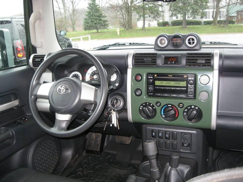 2010 Toyota FJ Cruiser 4x4 4dr SUV 5A - Crete IL