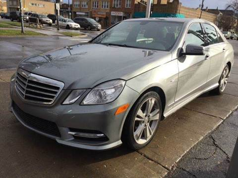 Mercedes benz e class for sale chicago il for Mercedes benz repair chicago