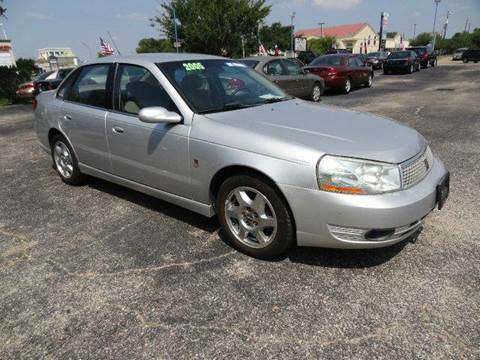 2005 Saturn L300 for sale at HOUSTON'S BEST AUTO SALES in Houston TX