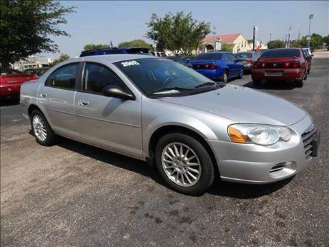 2006 Chrysler Sebring for sale at HOUSTON'S BEST AUTO SALES in Houston TX