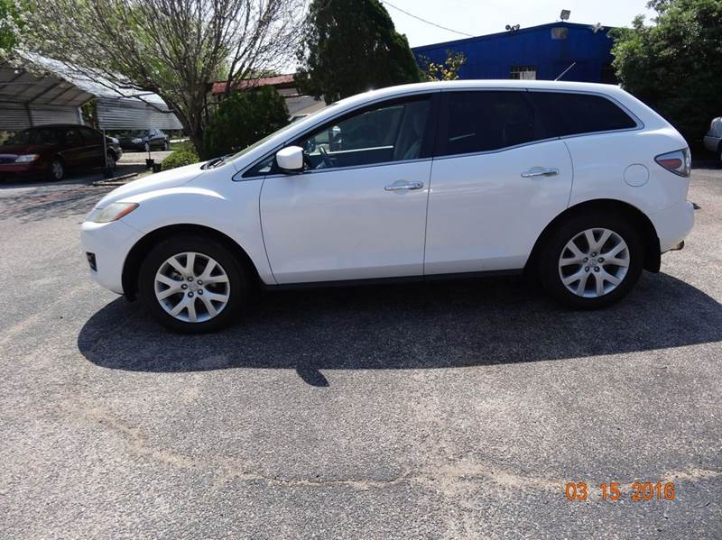 2008 Mazda CX-7 for sale at HOUSTON'S BEST AUTO SALES in Houston TX