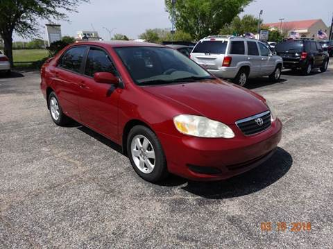 2007 Toyota Corolla for sale at HOUSTON'S BEST AUTO SALES in Houston TX