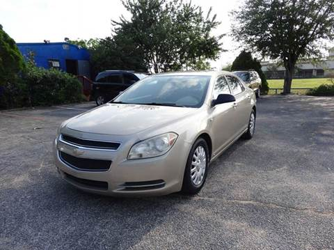2008 Chevrolet Malibu for sale at HOUSTON'S BEST AUTO SALES in Houston TX