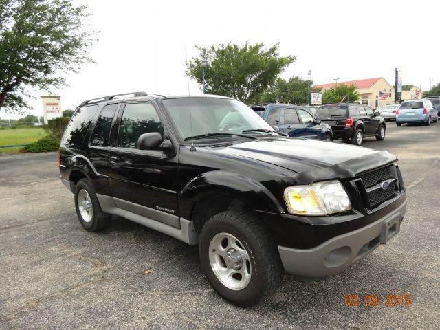 Suv Auto Sales Houston Tx: 2002 Ford Explorer Sport 2WD 2dr SUV In Houston TX