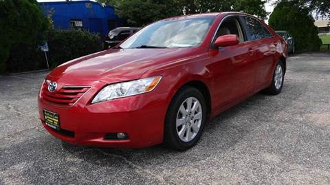 2007 Toyota Camry for sale at HOUSTON'S BEST AUTO SALES in Houston TX