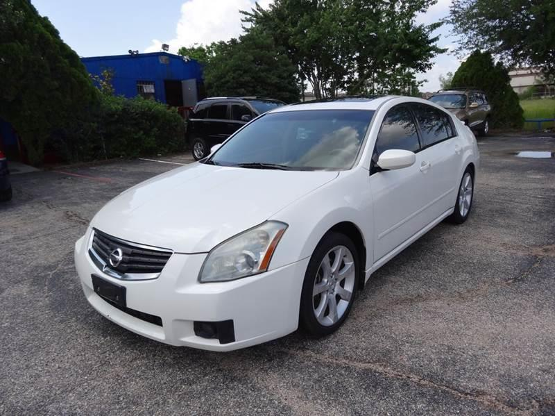 2008 Nissan Maxima for sale at HOUSTON'S BEST AUTO SALES in Houston TX