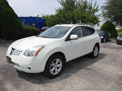 2008 Nissan Rogue SL for sale at HOUSTON'S BEST AUTO SALES in Houston TX