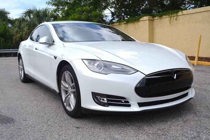 Tesla Model S Dr Liftback In Petersburg FL - 2014 tesla