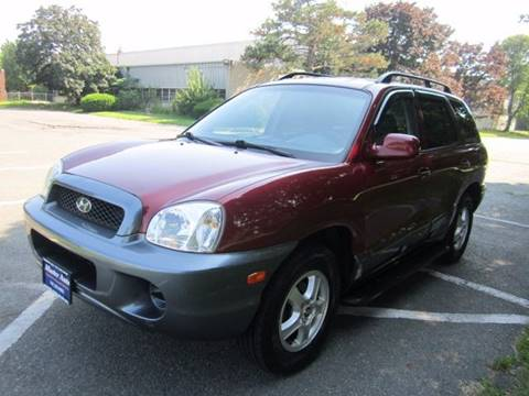 2004 Hyundai Santa Fe for sale at Master Auto in Revere MA