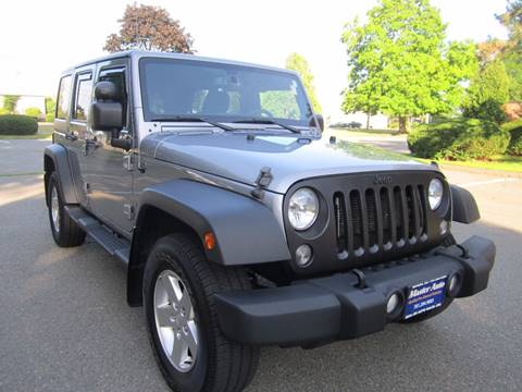 2014 Jeep Wrangler Unlimited for sale at Master Auto in Revere MA