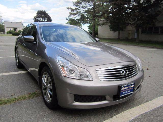 2009 infiniti g37 sedan awd x 4dr sedan in revere ma master auto 2009 Infiniti G37 Audio 2009 infiniti g37 sedan awd x 4dr sedan revere ma