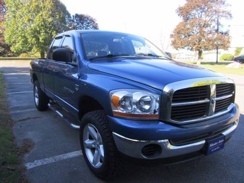 2006 Dodge Ram Pickup 1500 for sale at Master Auto in Revere MA