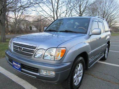 2005 Lexus LX 470 for sale at Master Auto in Revere MA
