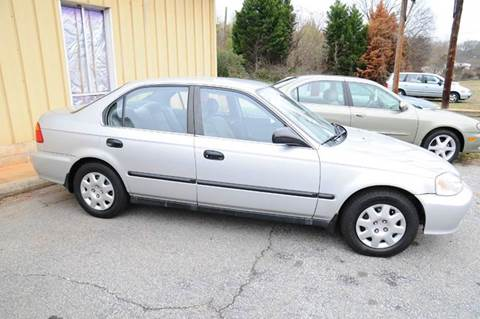 1999 Honda Civic for sale at RICHARDSON MOTORS in Anderson SC