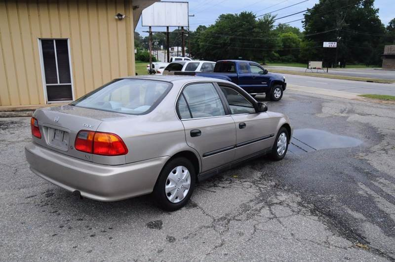 2000 Honda Civic for sale at RICHARDSON MOTORS in Anderson SC