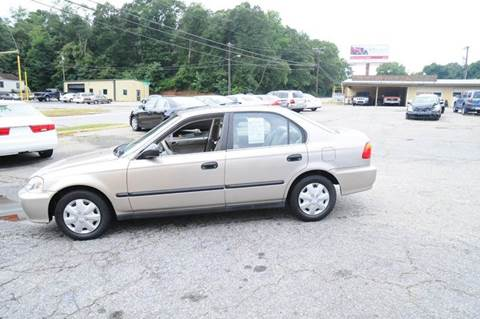 2000 Honda Civic for sale at RICHARDSON MOTORS in Anderson SC