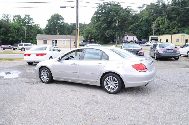 2005 Acura RL for sale at RICHARDSON MOTORS in Anderson SC